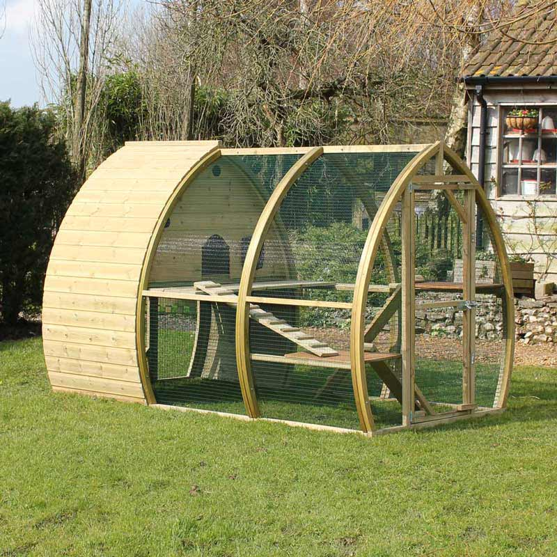 Safety Outdoors - Cat Enclosures & Cages - Purrfect Love