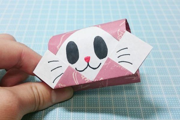 Origami cat