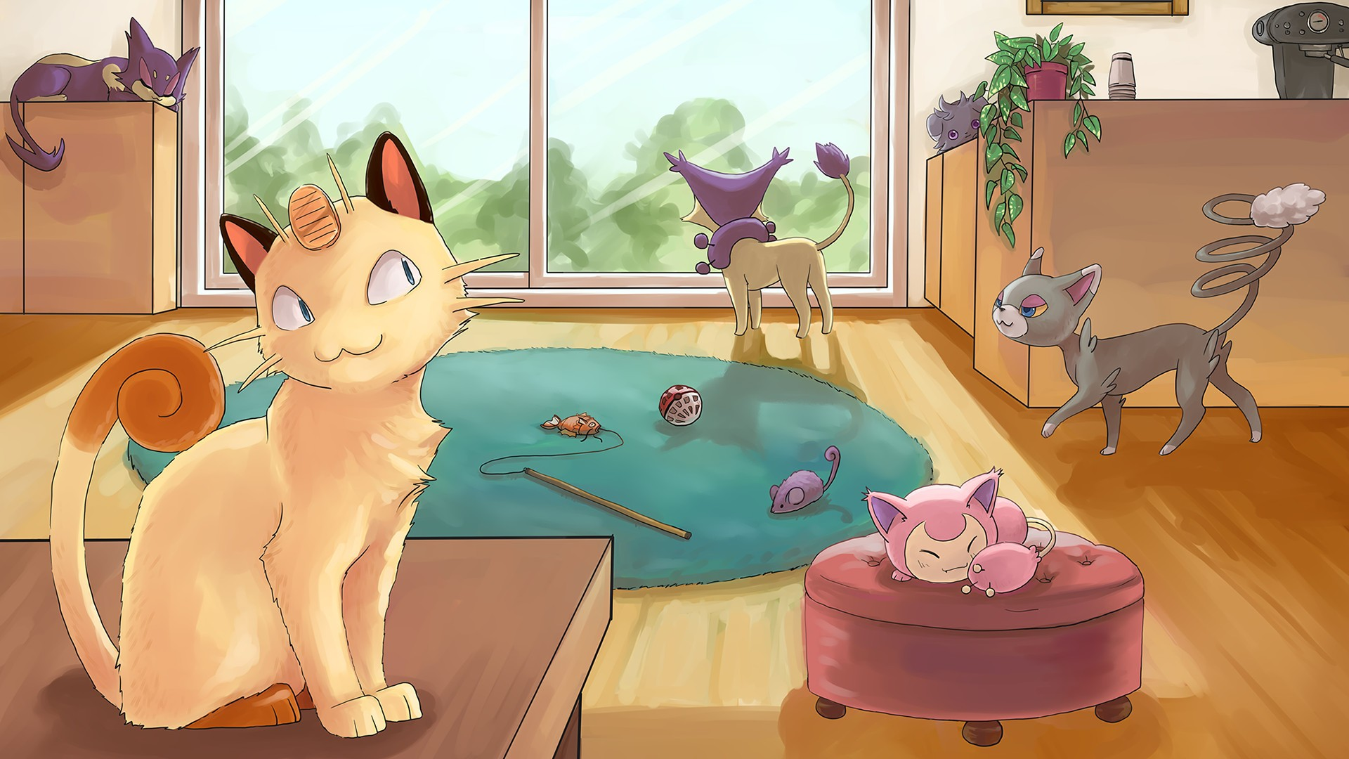 Cat Pokemon