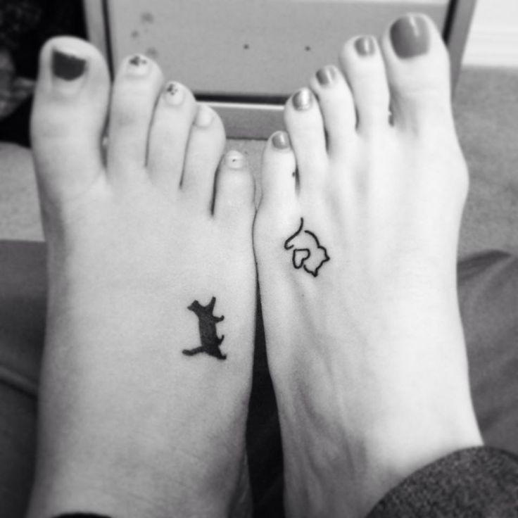Cat Friends Tattoos