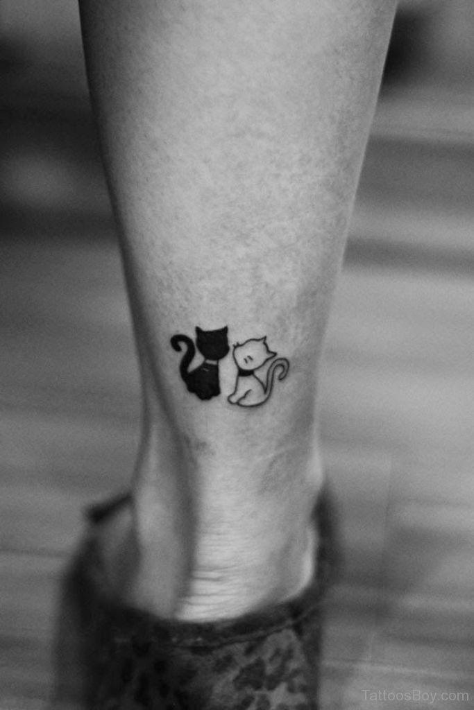 Kitty Couple Tattoo