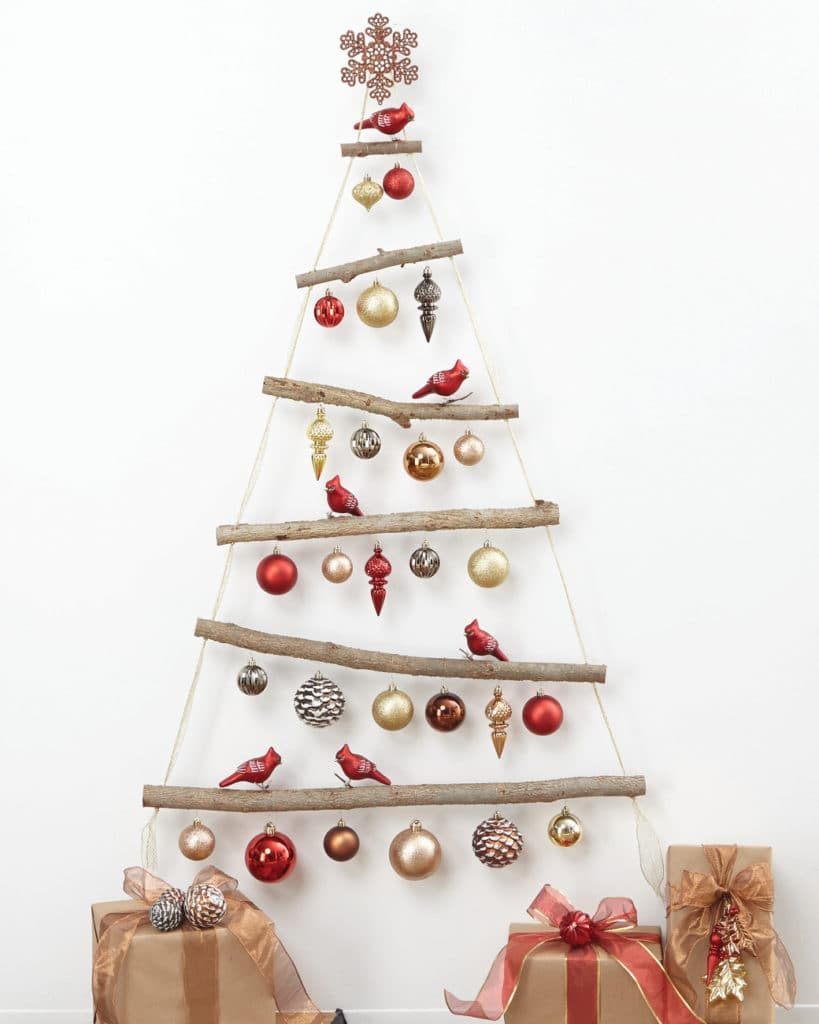 Ornamental Wall Hanging Christmas Tree