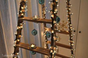 Tattered Christmas tree