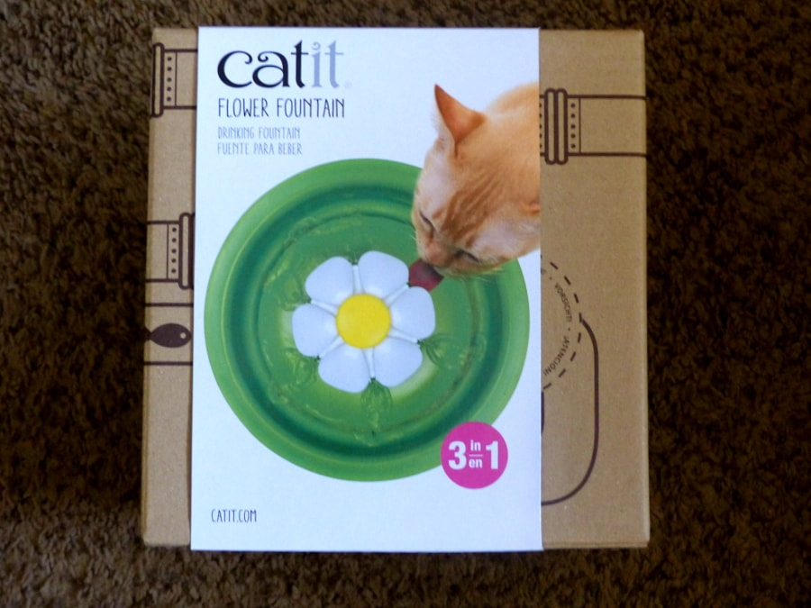 catit flower fountain instructions
