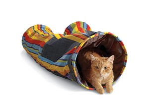 pants cat tunnel
