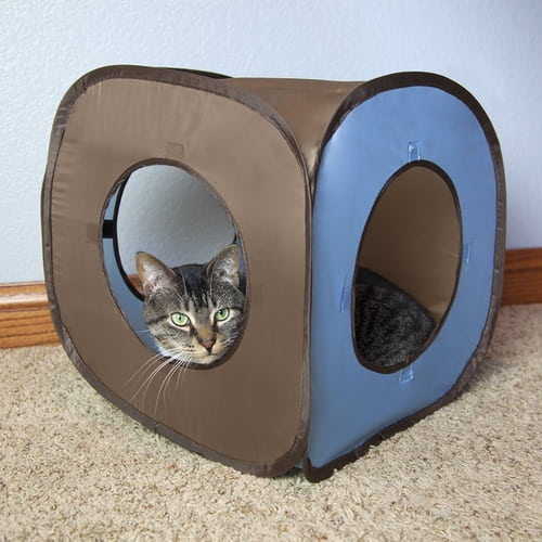 Kitty City Pop-up Cat Cube