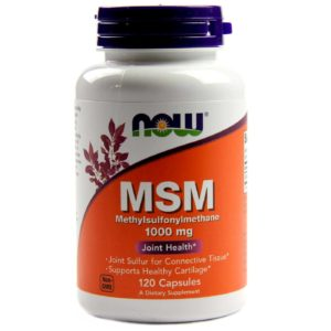 Now Food MSM Supplement