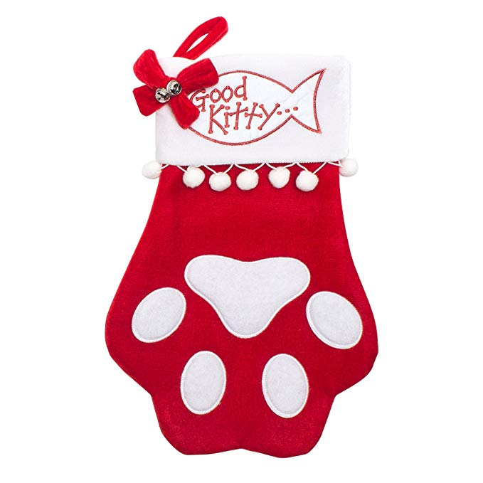 Cheap Chic Cat Paw Stocking