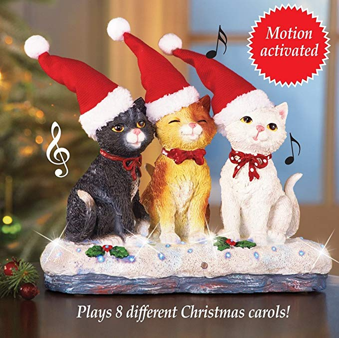 Collections Ect Fiber Optic Musical Cat Trio