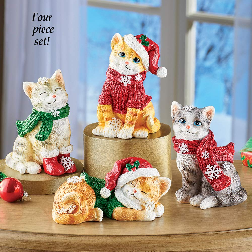 Collections Ect Holiday Cat Sitters Set