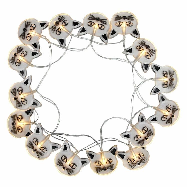 Cat String Lights