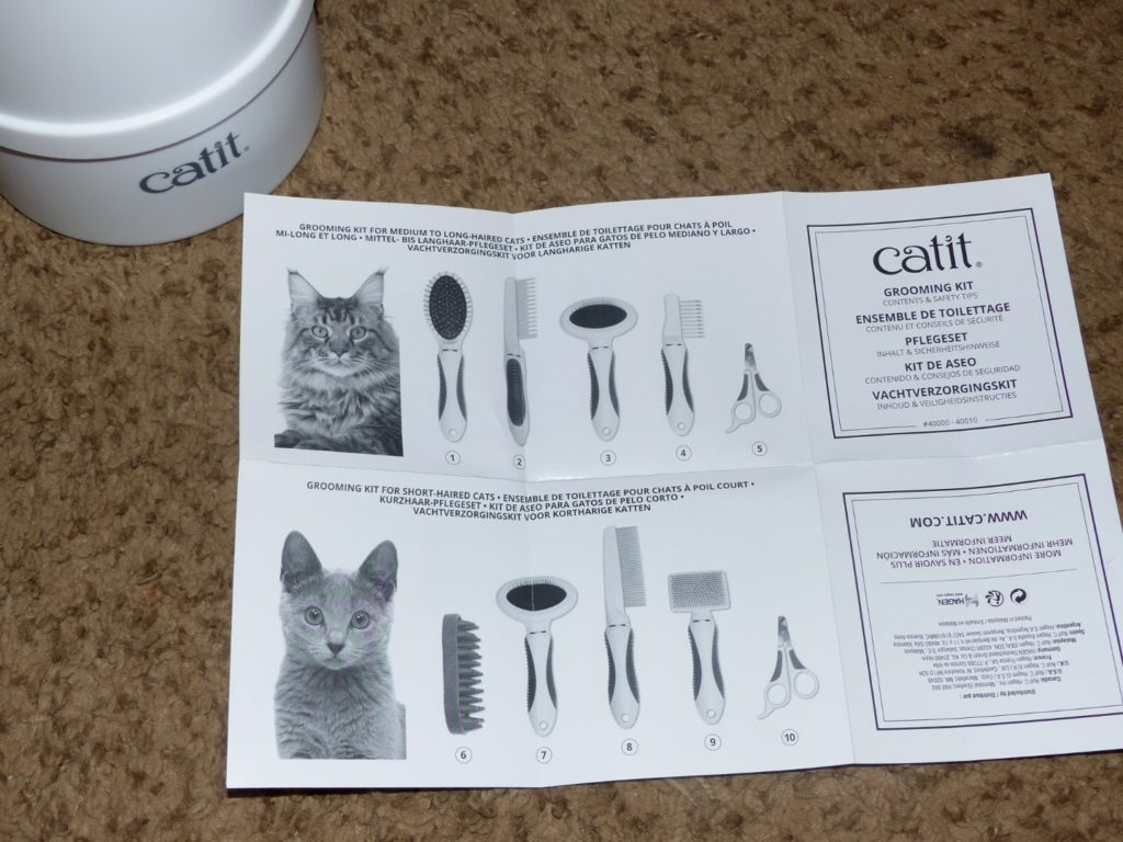 Catit Grooming Kit Unboxing