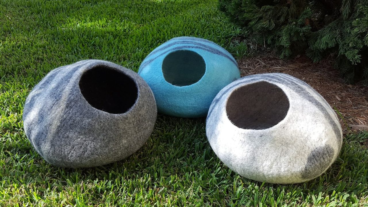 Meowfia Eco-Friendly Cat Beds