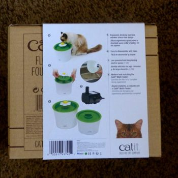 Catit Flower Fountain Packaging